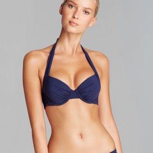23d140c67b5bc Tommy Bahama Swim - Tommy Bahama Pearl Solid Underwire Halter Bikini